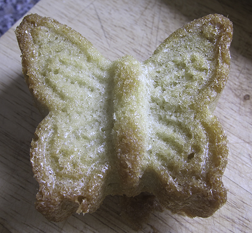 Butterfly Cake Mould Recipe